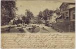 AK Gruss aus Bad Pyrmont Blick auf Altenauplatz 1899