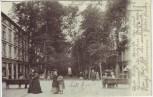 AK Bad Pyrmont Hauptallee mit Menschen 1903