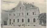 AK Freyburg an der Unstrut Kaiserliches Postamt mit Menschen 1907 RAR