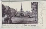 AK Hannover Brunnen an der Wasserkunst 1903