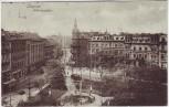 AK Liegnitz Legnica Wilhelmsplatz Schlesien Polen Feldpost 1917