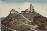 AK Riesengebirge Schneekoppe mit Jubiläumsweg Schlesien Tschechien 1913