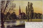 AK Leipzig Johannapark und Lutherkirche 1904
