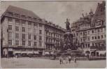 VERKAUFT !!!   AK Leipzig Siegesdenkmal Geschäfte Kinder 1916