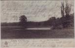 VERKAUFT !!!   AK Leipzig Blick in das Rosenthal Rosental 1902