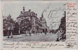 AK Gruss aus Dessau Erbprinzen-Palais 1904