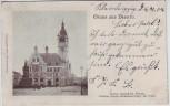 AK Gruss aus Dessau Rathaus 1904