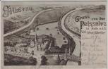 AK Gruss von der Peissnitz Peißnitzhaus Peißnitzinsel Halle an der Saale 1905