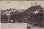 AK Saaleck Saalecksburg und Rudelsburg bei Bad Kösen 1908