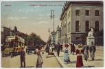 AK Berlin Mitte Königliche Universität Unter den Linden Oldtimer Menschen 1909