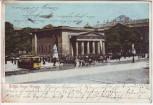 AK Berlin Mitte Neue Wache Straßenbahn Soldaten 1904