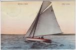 AK Berlin Grünau Alles voraus Segelschiff 1911