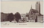 AK Wismar Markt mit Marienkirche 1908