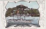 AK Gruss vom Süllberg Blankenese Schönster Elbaussichtspunkt mit Schiff Hamburg 1902