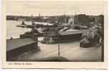 AK Foto Kiel Blick über den Hafen Feldpost 1941
