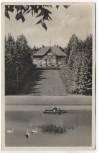 AK Falkenstein im Vogtland Gartenlokal Naturpark Irrgang 1937