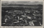 AK Stadt- und Moorbad Aibling am Wendelstein Stempel Fliegerhorst Erding Feldpost 1940