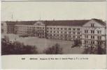 AK Berlin Mitte Kaserne d. Füs. Bat. II. Garde-Regt. z. F. in der Karlstrasse Feldpost 1917
