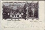 AK Gruss aus Vossloch Restaurant und Pensionat Lange Bokholt-Hanredder 1899