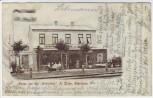 AK Elmshorn Gruss vom Gasthof Erholung 1898 RAR