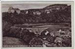AK Schloß Burgk mit Burgkhammer an der Saaletalsperre 1940