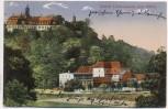 AK Schloss Lichtenwalde und Mühle Niederwiesa Sachsen 1924