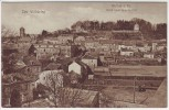 AK Rethel Blick nach dem Schloß 1.WK Ardennes Frankreich 1915