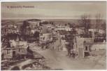 AK Sainte-Marie-à-Py Ortsansicht zerstörte Häuser 1.WK Marne Frankreich 1915