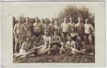 AK Foto Bad in Neuhammer an der Queis Świętoszów Soldaten Gruppenfoto Schlesien Polen 1928