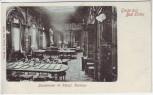 AK Gruss aus Bad Elster Lesezimmer im Königl. Kurhaus 1900