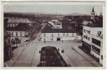 AK Rokycany Ortsansicht Markt Kirche Böhmen Tschechien 1940