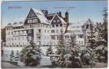 AK Bad Elster Sanatorium Dr. Koehler im Winter 1910