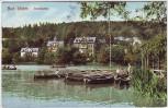 AK Bad Elster Louisasee Ruderboote 1910