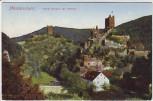 AK Manderscheid Beide Burgen mit Brücke 1920