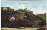 AK Sankt Goar Burg Rheinfels am Rhein 1920