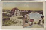 AK Bünde in Westfalen Villen an der Gasstrasse 1937 RAR