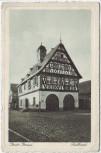 AK Groß-Gerau Blick auf das Rathaus 1930