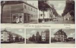 AK Mehrbild Heidelberg Gruß aus der Siedlung Höllenstein Buchenweg Ahornweg Erlenweg Bahnhof 1930 RAR