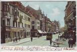 AK Freiburg im Breisgau Kaiserstrasse Bezirksamt Basler Hof 1907