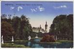 AK Schwerin Grossherzogl. Schloss von den Cascaden Feldpost 1917