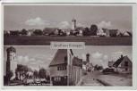 AK Mehrbild Gruß aus Ersingen Ortsansicht Kirche Pfarrhaus Straßenpartie bei Erbach Landpoststempel 1940