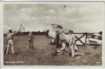 AK Foto Die deutsche Luftwaffe Flugzeug Pilot Personal 1936