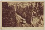 AK Krynica-Zdrój Blick auf Bahn Kleinpolen Polen 1953
