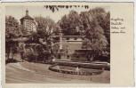 AK Foto Augsburg Freilichtbühne mit rotem Tor 1934