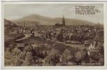 AK Foto Freiburg im Breisgau Ortsansicht von der Wintererstraße Gedicht Feldpost 1939
