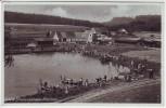 AK Foto Ehgatten bei Welden BMA Erholungsheim viele Menschen 1935