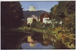 AK Foto Kelheim Blick von der kleinen Donaubrücke zur Befreiungshalle 1930