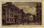 AK Pirmasens Adolf-Hitler-Platz mit Rathaus Hotel Breith 1939