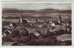 AK Foto Crailsheim Ortsansicht mit Kirchen 1939