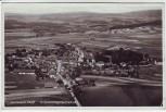 AK Foto Winklarn (Oberpfalz) Fliegeraufnahme Luftbild Bahnpoststempel 1939